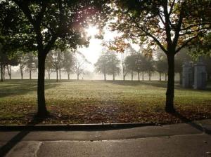 Victoria Park, in happier times